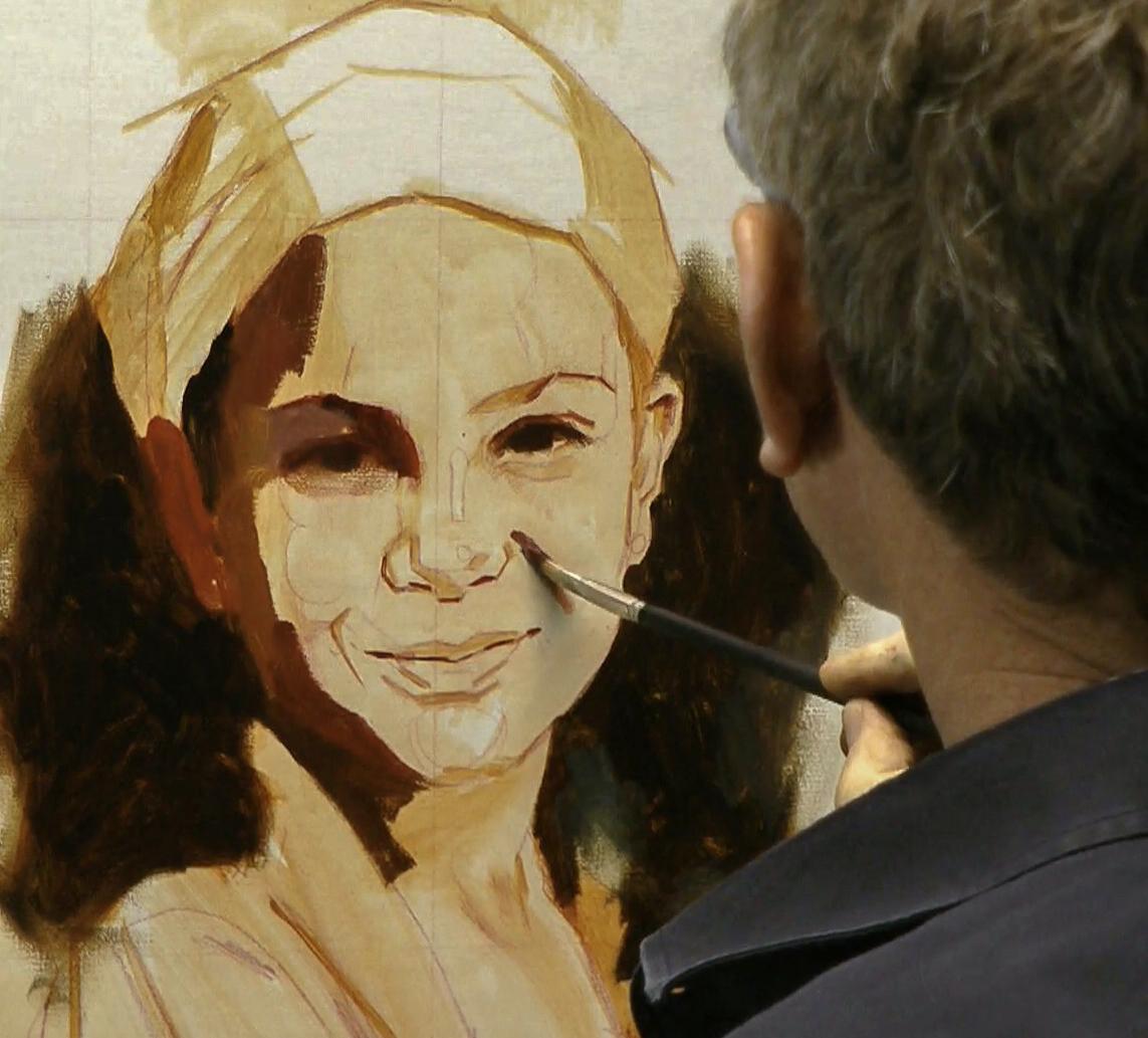 Video tutorials archives ben lustenhouwer for Portrait painting tutorial