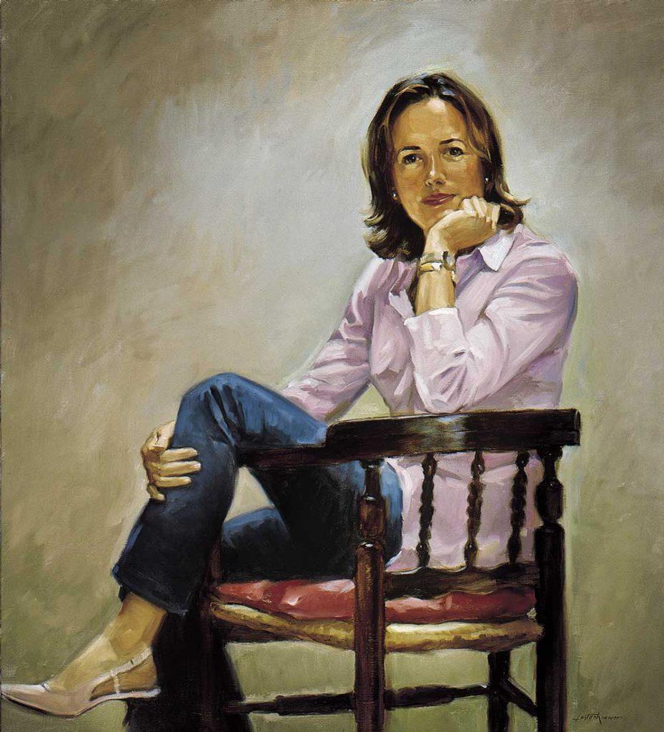 La peinture de portrait en tant qu'entreprise. Quelques conseils de Ben Lustenhouwer.