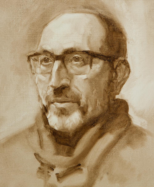 Comment commencer un portrait à l'huile. Explication de Ben Lustenhouwer, portraitiste néerlandais.